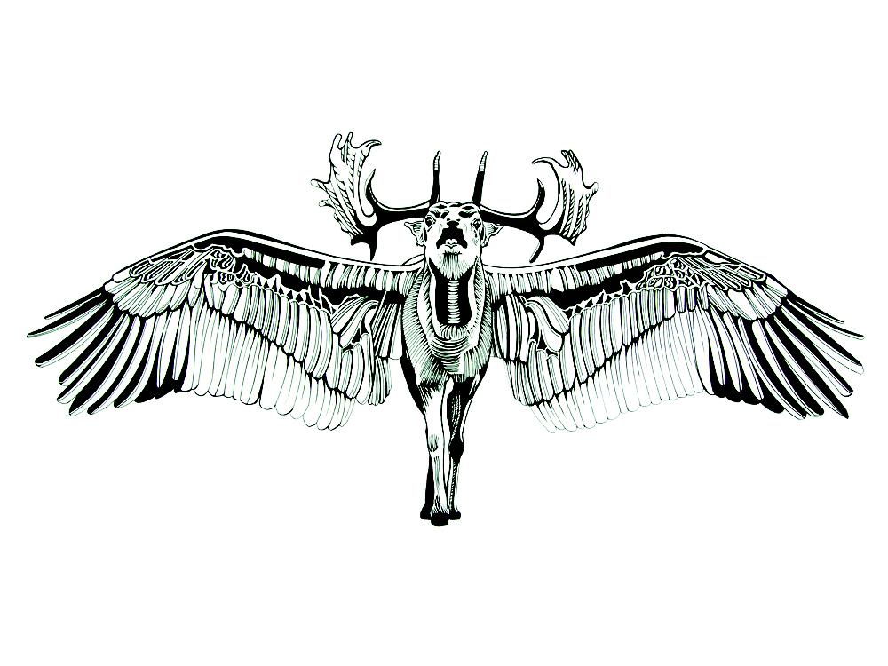 Flying Deer; calling