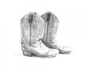 cowboyboots voor illustratemyday