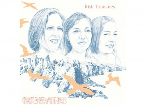Merain - Irish Treasures. Cover design by Illustrate My Day